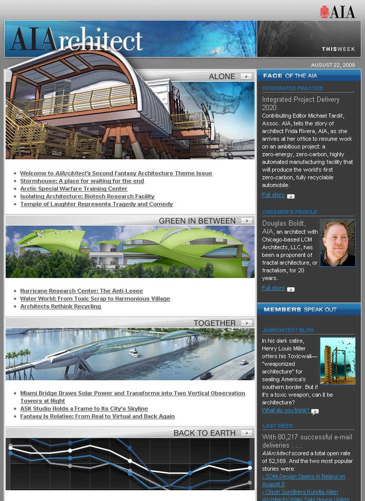 AIArchitect (August 22, 2008) screen capture
