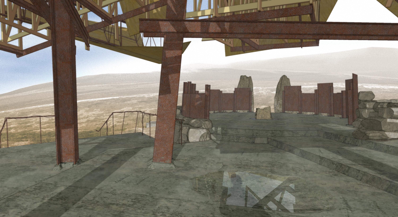 Pavilion for Oblivion (2007) interior