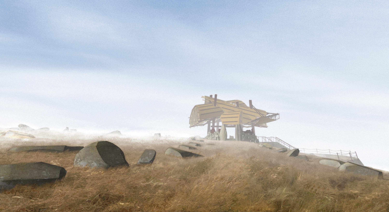 Pavilion for Oblivion (2007) path