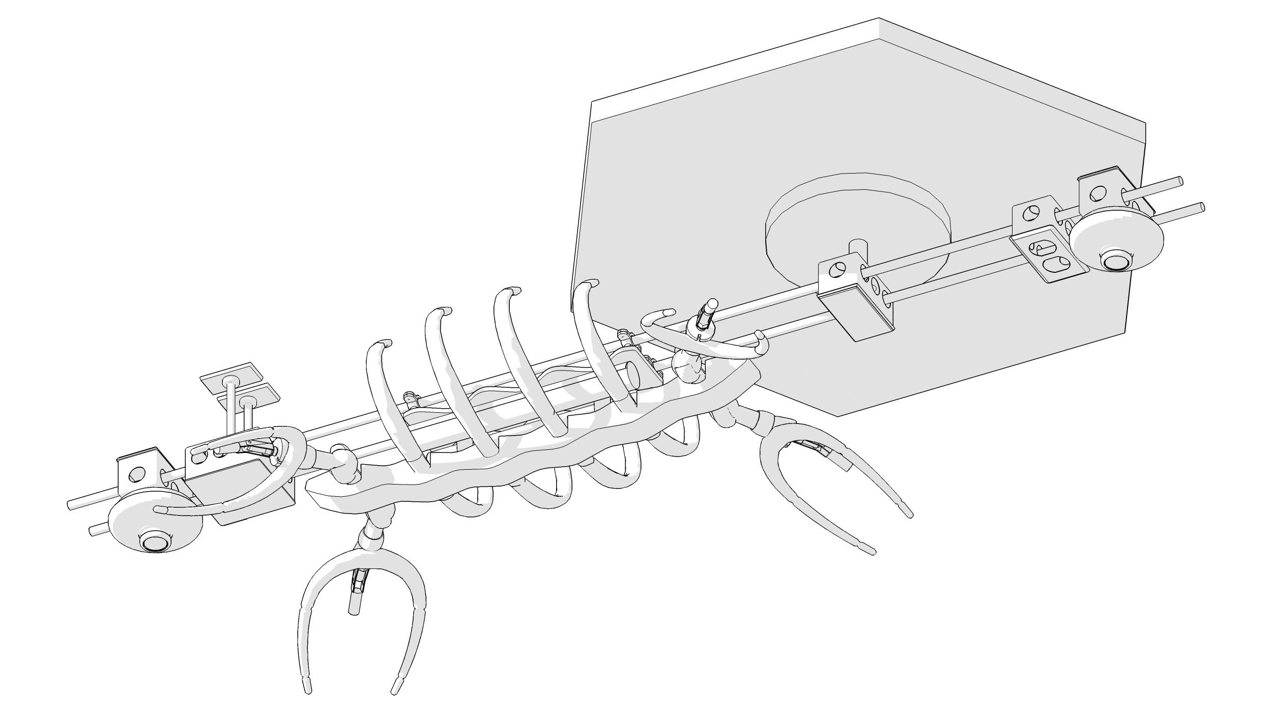 Plesiosaur, v5 concept (2011)
