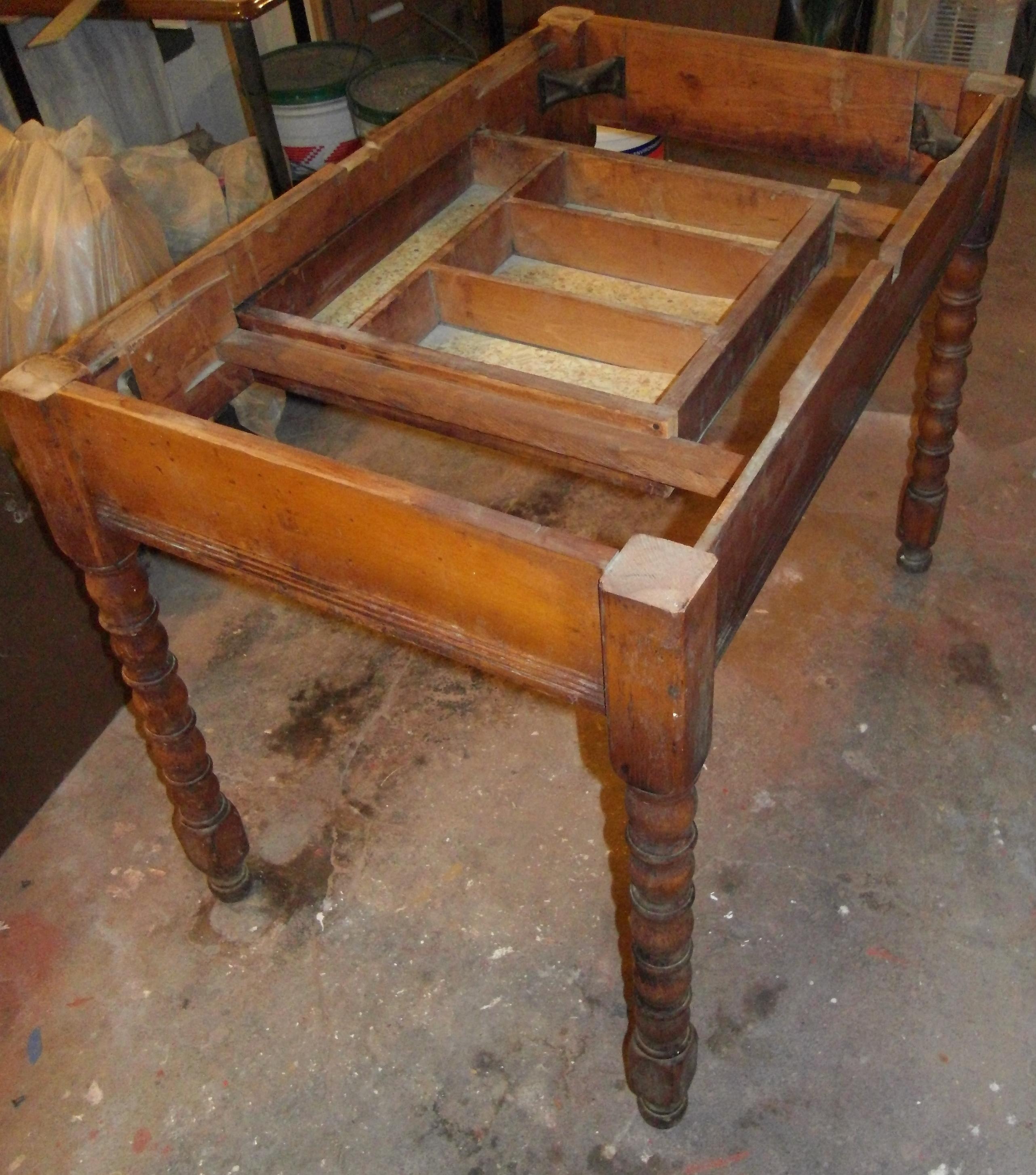 Bishop's Desk - salvaged elements (2011)