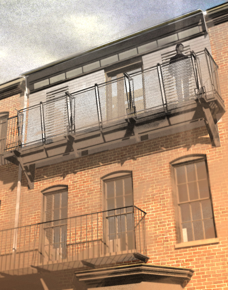 Residential project balcony proposal (2009)