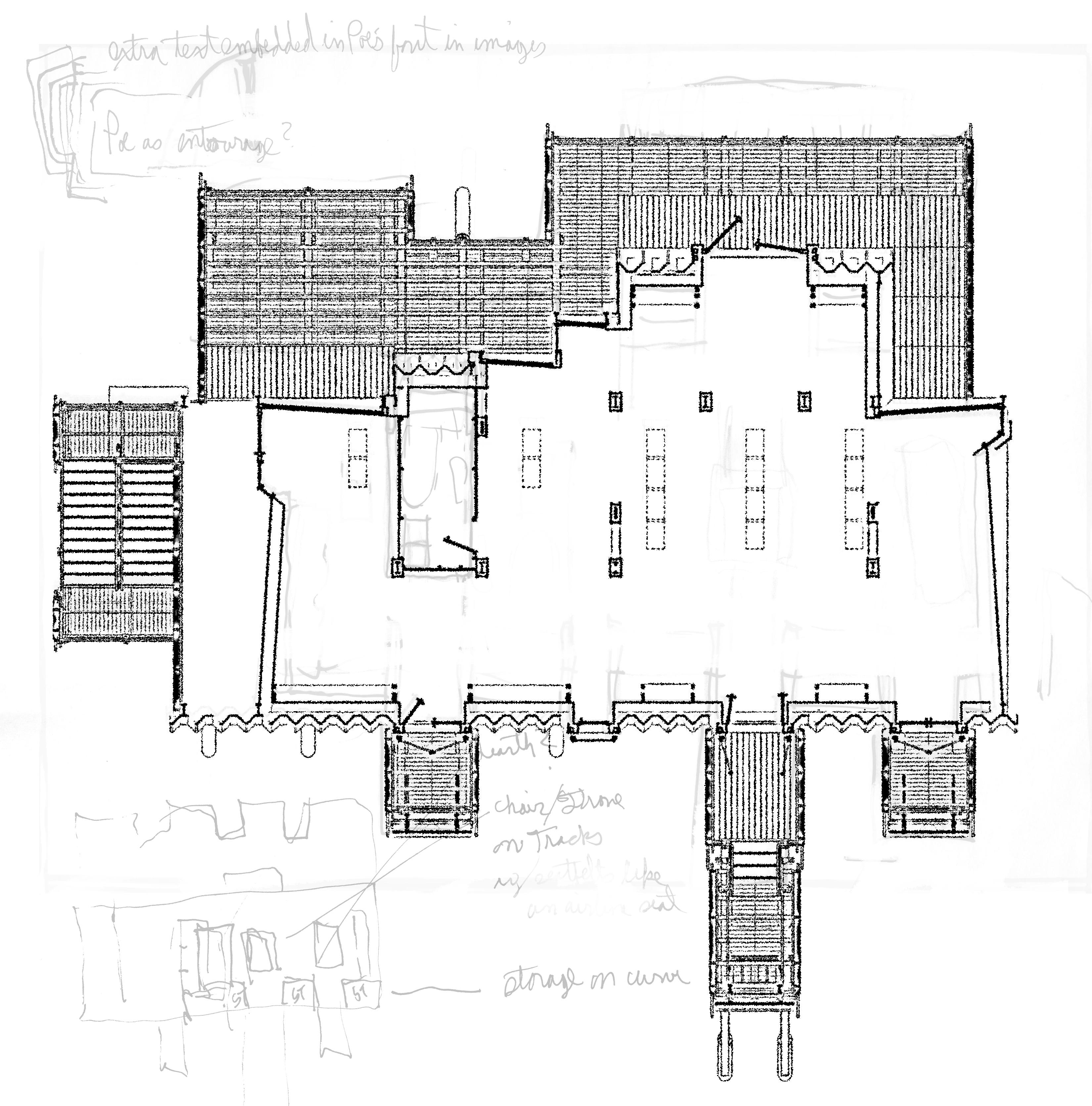 Stormhouse (2009) plan sketch