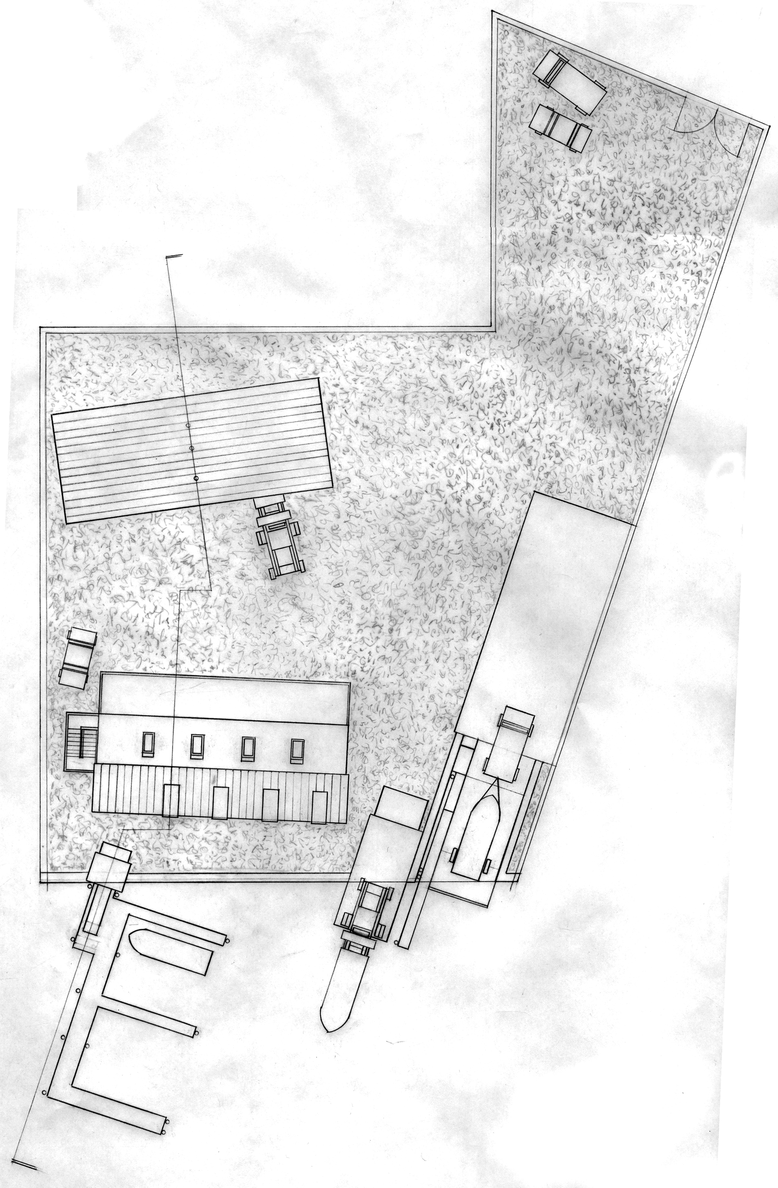 Hurricane House site plan (2001)