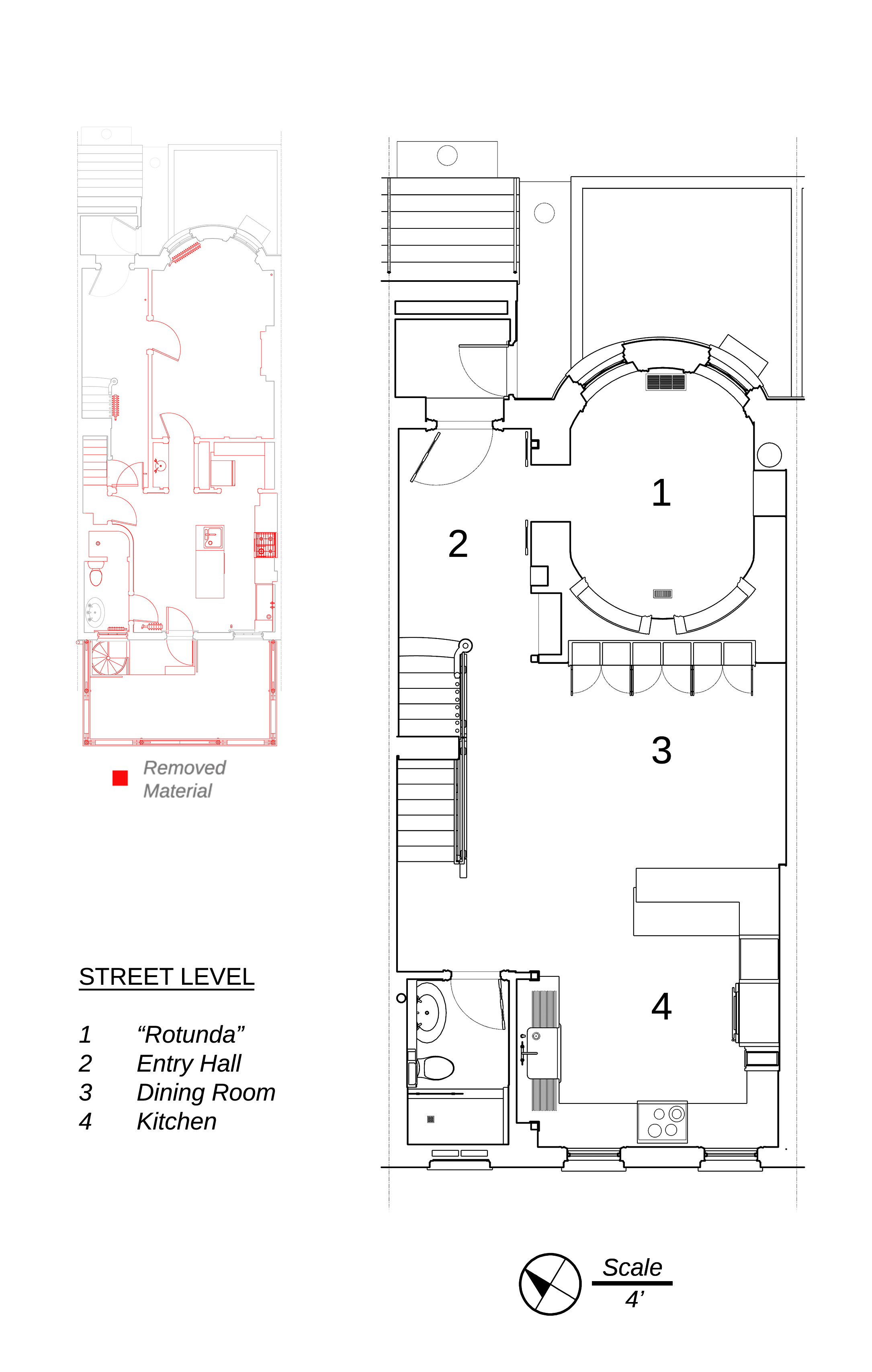 Street Level Plan - click to go to Plans & Elevations album