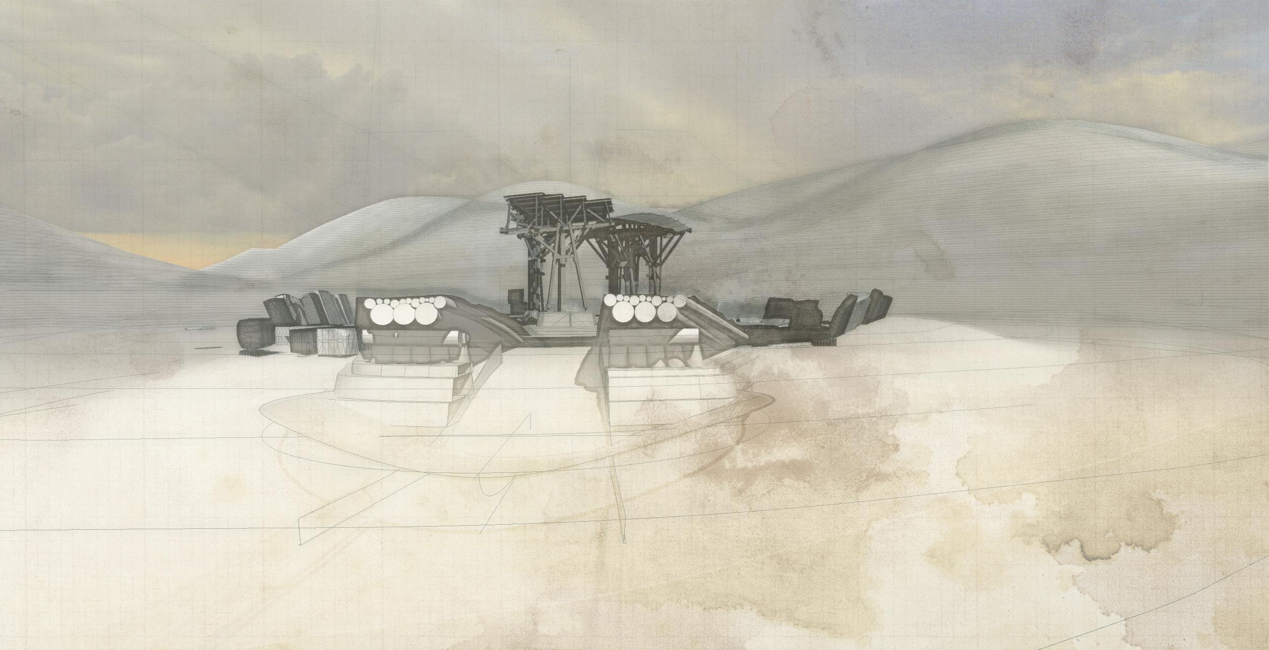 Future Monument (2009) study